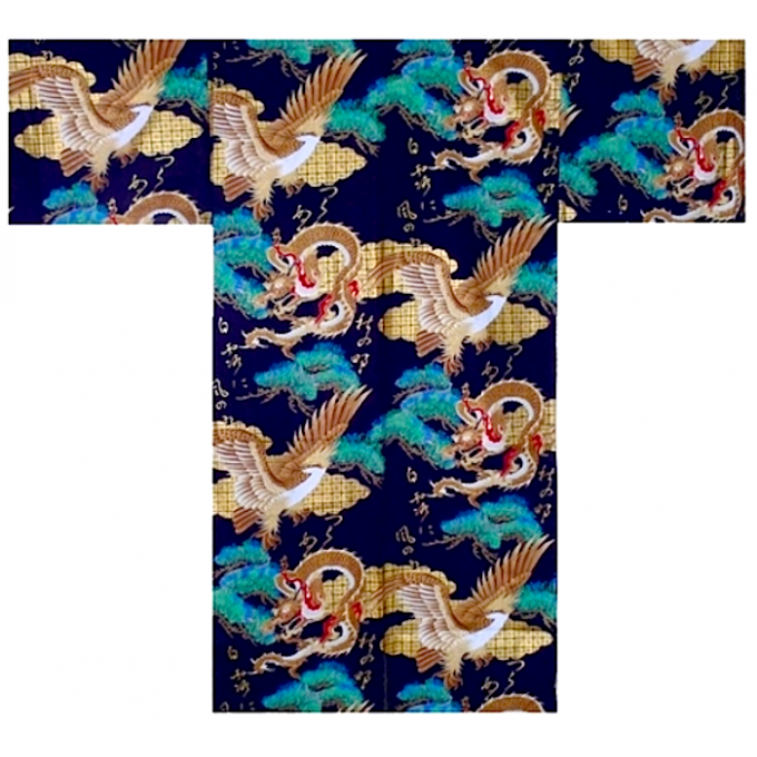 "Hanten Ryu to Washi coton homme ""Made in Japan"""