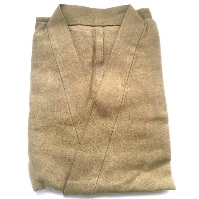 Luxe samue lin ocre doré homme Taille:L HandMade in Japan