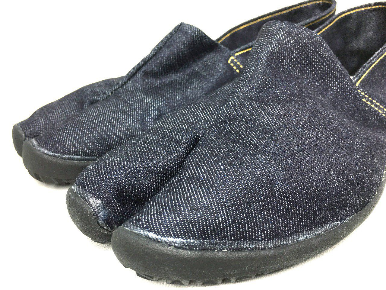 "Luxe Chaussure Jikatabi TabiRela Denim Marugo ""Made in Kurashiki Japan"""