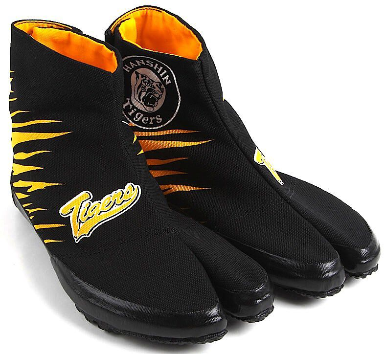 "Jikatabi Hanshin Tigers Hi Gara Wamon ""HandMade in Japan"" (Fait main au Japon)"