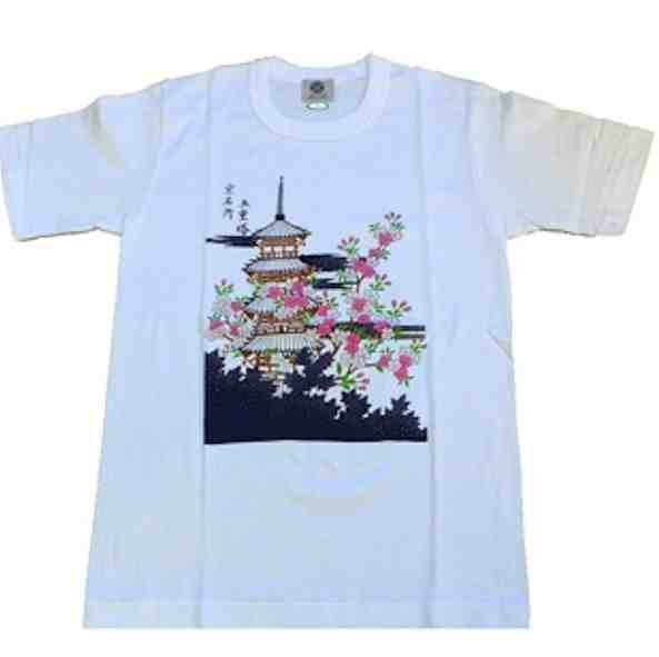 Tee shirt japonais Kyoto Made in Japan
